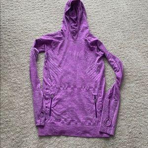 Lululemon Long sleeve purple top